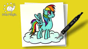 my little pony coloring pages rainbow dash drawing for kids to