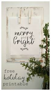 247 best free printables images on pinterest christmas decor