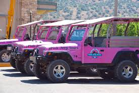 jeep pink the famous pink jeeps of sedona 2 dads with baggage