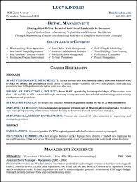 sample retail store manager resume retail store manager resume examples