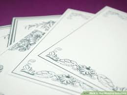 where to buy wedding invitations how to buy wedding invitations 12 steps with pictures wikihow