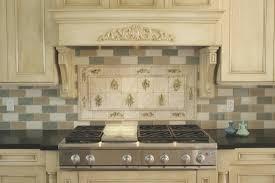 Kitchen Tile Murals Backsplash Backsplash Creative Tile Mural Backsplash Home Design Popular