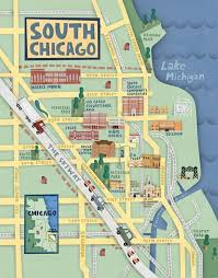 chicago map 18 gorgeous illustrated maps of chicago upout