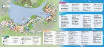 Florida Springs Map by Updated Downtown Disney Guide Map Featuring Pleasure Island
