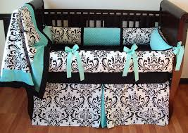 Black And White Crib Bedding Set Interior Black And White Fabric Black Crib Bedding With Blue