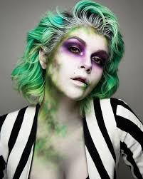 beetlejuice halloween inspo via sarahmcgbeauty makeup looks we