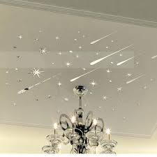 wall sticker decoration custom boiler com funlife 3d meteor stars universe shooting shiny mirror wall sticker reflective decals for home decorationwall decoration