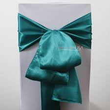 teal chair sashes wedding chair covers chair covers table linens wholesale at