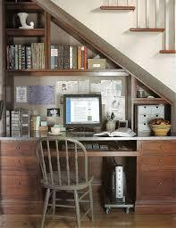 Two Desks In One Office Best 25 Desk Under Stairs Ideas On Pinterest Understairs Ideas