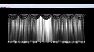 Curtain Fairy Lights by Spot On Layered Stage Curtains U0026 Fairy Lights Demo Youtube