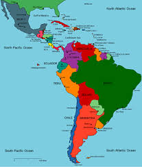Map Of South And Central America Printable Travel Maps Of Central America Moon Travel Guides