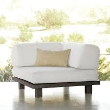 west elm tillary sofa tillary outdoor sofa review outdoor designs