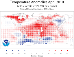 World Temperature Map by Noaa National Oceanic And Atmospheric Administration Noaa