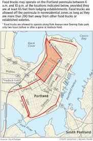 Map Portland Maine by Who U0027s In The Food Truck Fleet Portland Press Herald