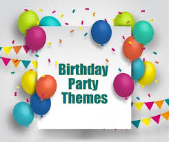 party themes birthday party themes athena miel s balloons bubbles and party