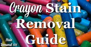 crayon stain removal guide for clothing upholstery carpet u0026 more