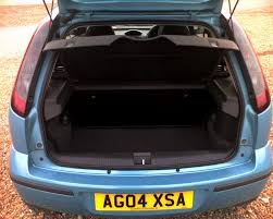 nissan micra luggage capacity vauxhall corsa hatchback 2003 2006 features equipment and