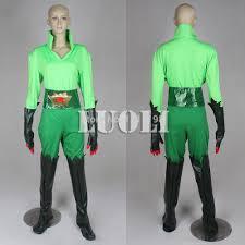 2015 new green batman poison ivy dress poison ivy zentai spacesuit