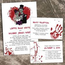 nightmare before christmas wedding invitations 12 spooky wedding invites creative market