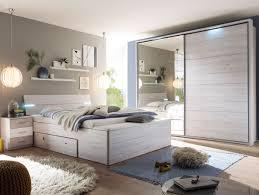 Bettbank Schlafzimmer Milena Xl Bettanlage Inkl Nakos Und Bank Weißeiche