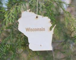 wisconsin ornament etsy