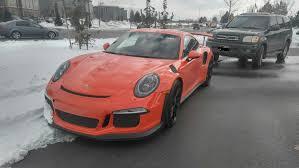 Porsche 918 Gt3 - when you own a porsche 918 spyder a 911 gt3 rs can be your winter