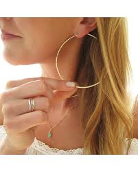 big hoop earrings shopping s deal on three inch hoop earrings