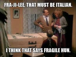 A Christmas Story Meme - fragile that must be italian a christmas story merry