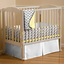 Grey And Yellow Crib Bedding Yellow Greyite Crib Bedding Black And Gray Chevron Baby Cot