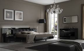 bed design with side table contemporary bedroom designs gray wall hanging fireplace brown
