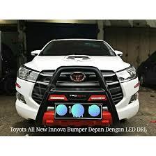 All New Pajero Sport List Kap Mobil Depan Molding Chrome mitsubishi all new pajero sport 2016 2017 bumper depan led drl