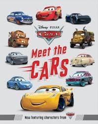 cars characters disney pixar cars 3 meet the cars book toys