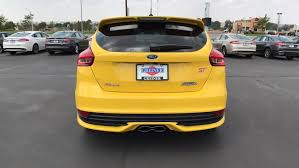ford focus st yellow 2017 ford focus st hatchback st yellow tri coat for