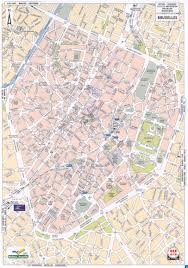 Brussels Europe Map by Map Of Brussels Tourist New Zone