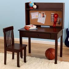 Espresso Computer Desk With Hutch by Kidkraft Pin Board Kids Desk With Hutch U0026 Chair Great Buy