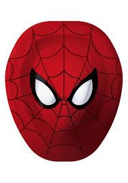 spiderman face template virtren