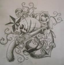 pirate ship tattoo sketch photo 1 photo pictures and sketches