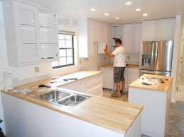 How To Install Kitchen Island Cabinets by Installing Kitchen Cabinets Best Home Interior And Architecture
