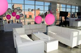 lounge decor and up lighting platinum nyc events