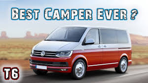 volkswagen bus 2016 price vw t6 2017 california vw bus campervan overview youtube