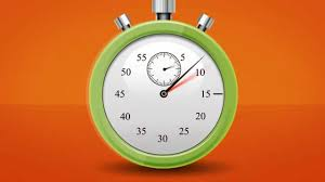 60 second countdown clock stop zoom 3d animation timer