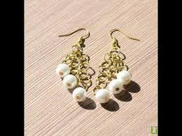 make dangle earrings jewelry easy steps to make pearl dangle earrings