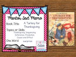 turkey for thanksgiving book collaboration cuties a turkey for thanksgiving ready to go lesson