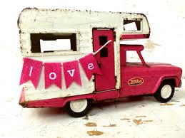 Car Decoration For Valentine S Day by Vintage Pink Tonka Camper Decoration For The Entryway Table For