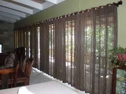 Curtains For Sliding Glass Door Sliding Glass Door Curtains And Blinds Exterior Sliding Glass