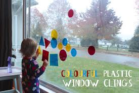 colourful plastic window clings papa bubba