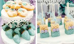 Mermaid Decorations For Party Mermaid Theme Party Food On Trend Ideas For Your Next Kids Party
