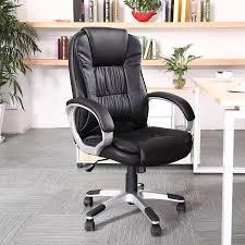 Ergonomic Office Furniture by Belleze Ergonomic Office Pu Leather Chair Executive Computer