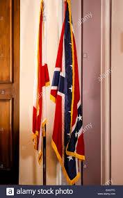 Confederate Flag Alabama Alabama State Flag And The Confederate Flag Inside The Capitol