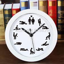 sexe bureau alarme horloge de bureau montres rétro en bois heures de sexe